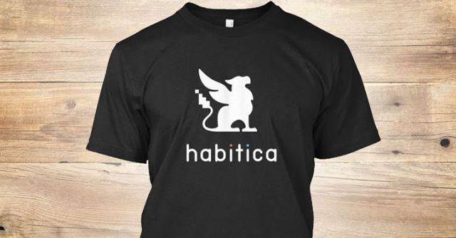 habitica shirt promo