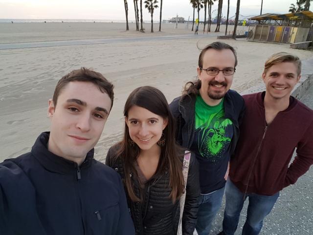 staff-on-beach
